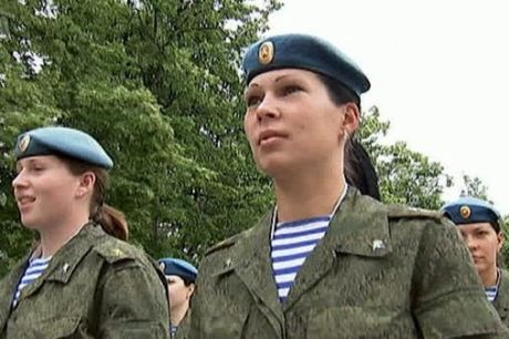 Первый выпуск женщин офицеров Рязанского училища ВДВ