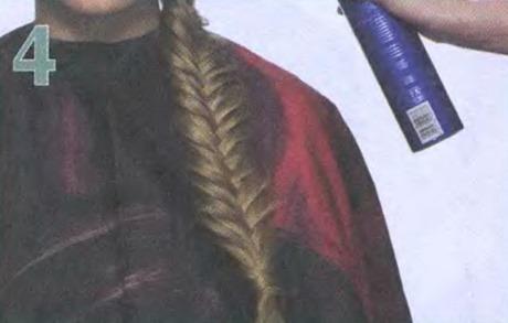 резинка в косе 4