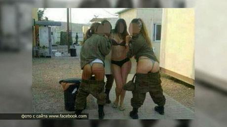 Израильские женщины военнослужащие опубликовали свои пикантные фото