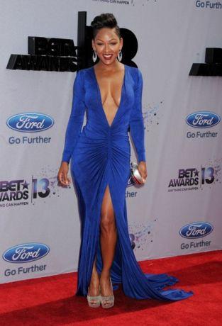 Сексуальное платье Миган Гуд на церемонии BET Awards 2013