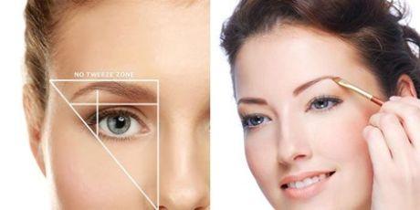 Форма бровей в макияже