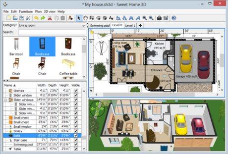 Программы для планирования интерьера