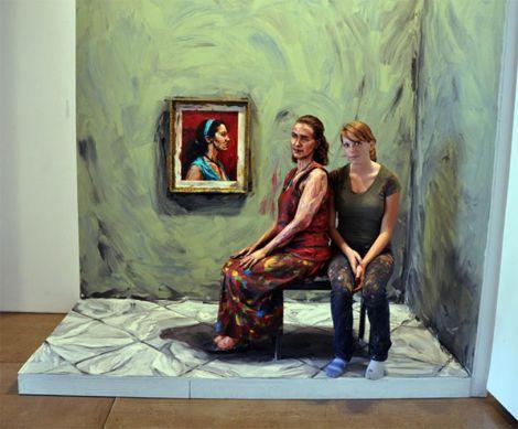 Живые картины художницы Алексы Мид