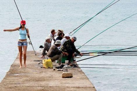 Известные женщины рыбаки