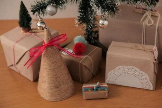 Делаем необычные елочки своими руками на Новый год