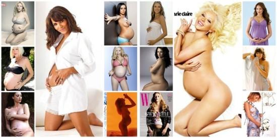Беременные на фотографиях